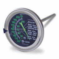 CDN ProAccurate Meat / Poultry Ovenproof Thermometer Glow