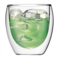 Bodum Pavina Glass Small 8oz set of 2