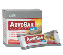 AdvoCare AdvoBar a.m. (Perfectly Peach)  12 bars