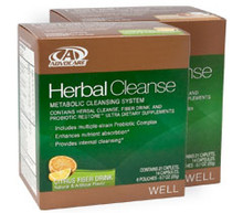 AdvoCare Herbal Cleanse  with Peaches & Cream Fiber Drink (10-day system)