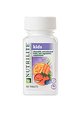 NUTRILITE Kids Chewable Concentrated Fruits and Vegetables - 60 Count
