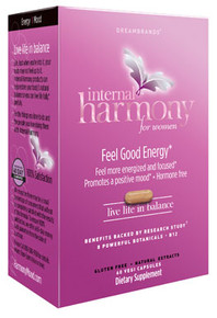 Dreambrands Internal Harmony Feel Good Energy (30 Day Supply - 60 Capsules)