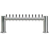 "Metropolis ""H"" - 12 Faucets - Polished Stainless Steel - Glycol Cooled"
