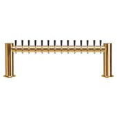 "Metropolis ""H"" - 14 Faucets - PVD Brass - Glycol Cooled"