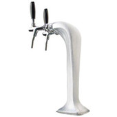 Ice Cobra - 2 Faucet - Polished Chrome - Glycol Cooled