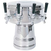 Mushroom - 4 Faucets - Chrome - Air Cooled