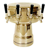 Mushroom - 4 Faucets - Brass - Glycol Cooled