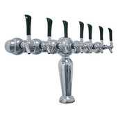 Brigitte - 7 Faucets - Chrome Finish - Glycol Cooled