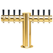 "Metropolis ""T"" - 8 Faucets - PVD Brass - Glycol Cooled"