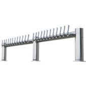 "Metropolis ""M"" - 24 Faucet - Polished Stainless Steel - Glycol Cooled"