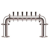 Brauhaus U - 6 Faucets - Chrome Finish - Glycol Cooled