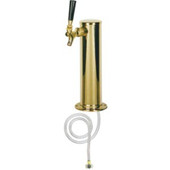 "3"" Column - 1 Faucet - PVD Brass - Air Cooled"