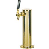 "3"" Column - 1 Faucet - PVD Brass - Glycol Cooled"