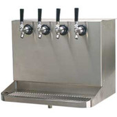 Under Bar Dispensing Cabinet - Glycol Cooled - 4 Faucets