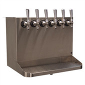 Under Bar Dispensing Cabinet - Glycol Cooled - 6 Faucets
