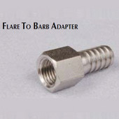 Female Flare to Barb Adapter