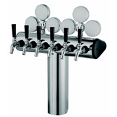Stainless Steel Illuminated Winged T-Tower