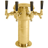 Mini Mushroom - 4 Faucet - PVD Brass - Glycol Cooled