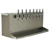 Under Bar Dispensing Cabinet - Glycol Cooled - 8 Faucets