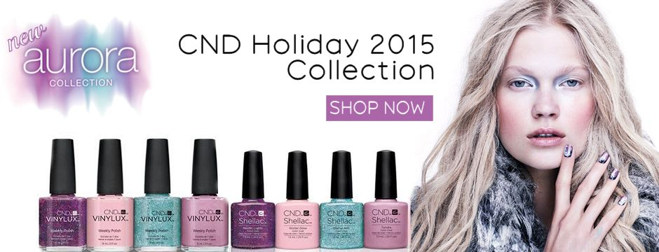 New CND Aurora Shellac Vinylux Collection