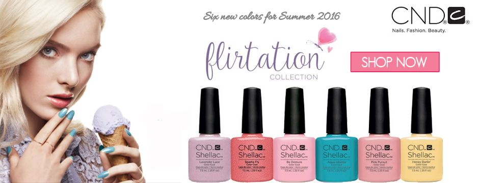 New CND Summer 2016 Flirtation Collection