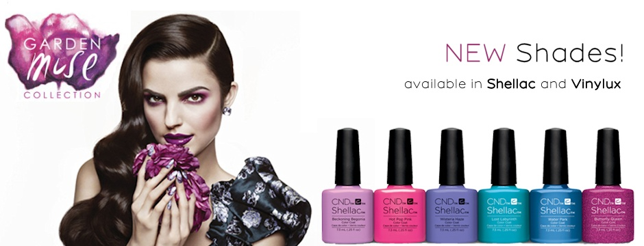 New CND Garden Muse Summer 2015 Collection