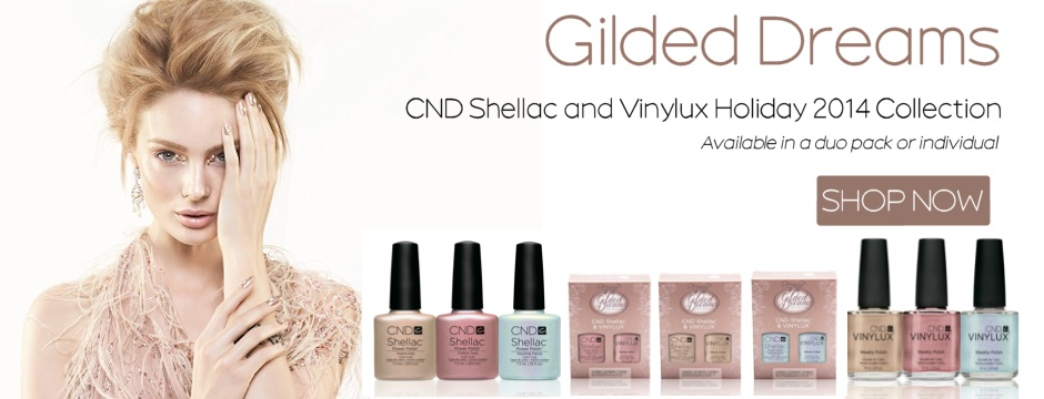 New CND Gilded Dreams Holiday 2014 Collection