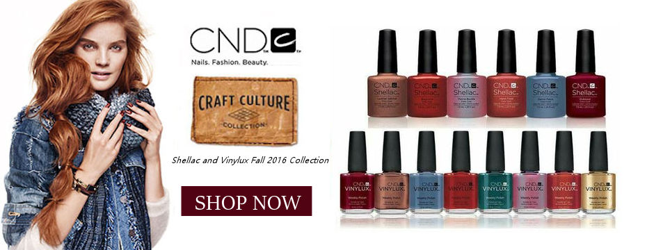 NEW CND Shellac and Vinylux Craft Culture Collection