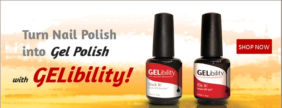 New Gelibility Turn Nail Polish into Gel Polish