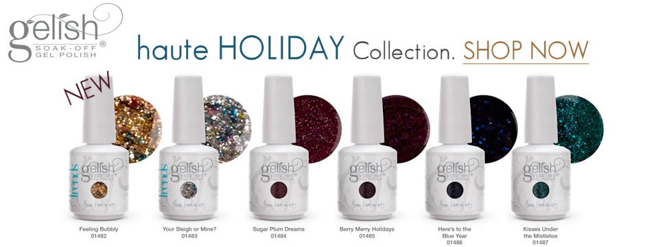 NEW Gelish Haute holiday 2014 Collection