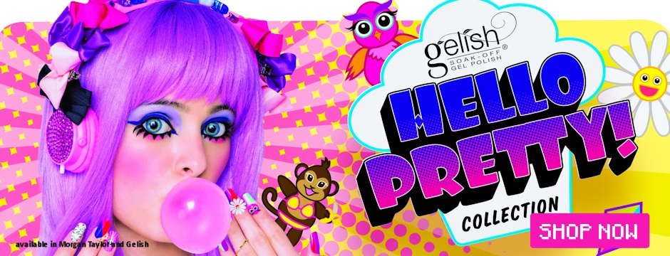 Gelish Hello Pretty Summer 2015 Collection
