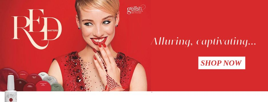 New Gelish Red Matters Collection