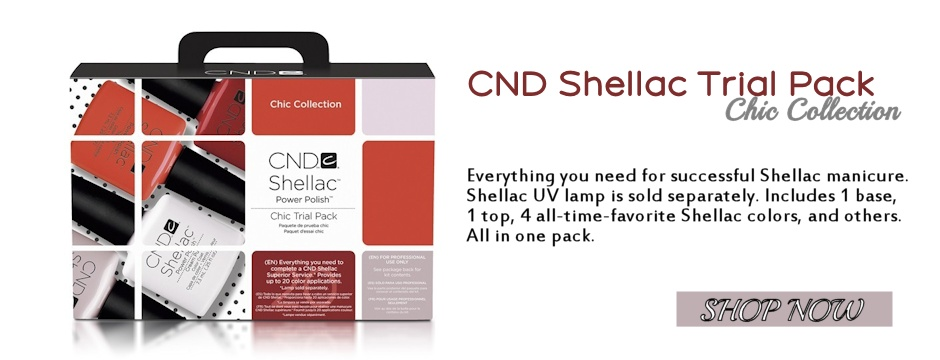 New CND Shellac Starter Kit