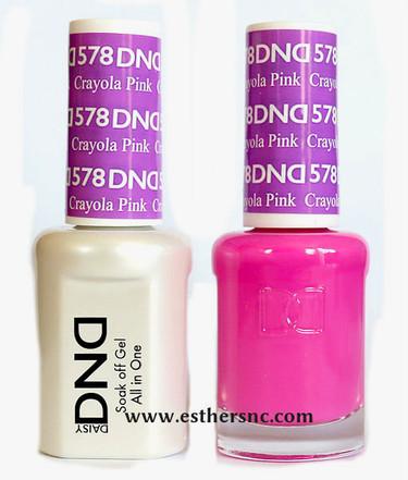 Daisy Gel Polish Crayola Pink 578 Esther S Nail Center