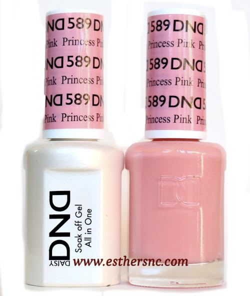 Daisy Gel Polish Princess Pink 589