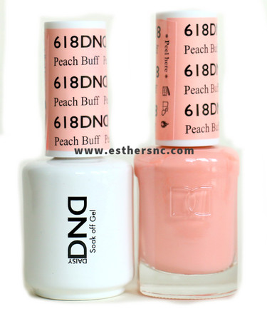 Daisy Gel Polish Peach Buff 618