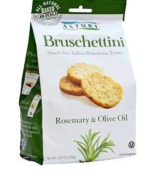 Asturi Bruschettini Rosemary & Olive Oil 4.2oz bag