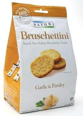 Asturi Bruschettini Garlic & Parsley 4.2oz bags