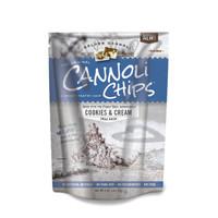 Golden Cannoli Chips Cookies & Cream 5.1oz bags (Pk of 8)
