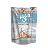 Golden Cannoli Chips Powdered Sugar 5.1oz bags (Pk of 8)