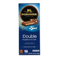 Perugina Baci Hazelnut Dark Chocolate Bars 5.43oz (Case of 14)