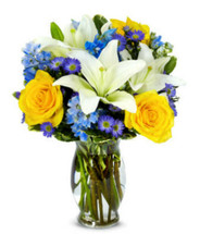 Blue Sky Bouquet