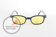 X - KD's Black Frame with Yellow Lenses