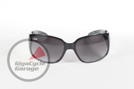 Chix Windsong Sunglasses - Black Frame with Smoke Fade Lenses