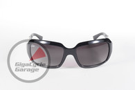 Chix 5th Avenue Sunglasses - Black Frame with Smoke Fade Lenses