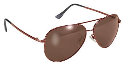 8c9b5533c Pilot (Aviator) Polarized Sunglasses - Copper Frame with Brown ...