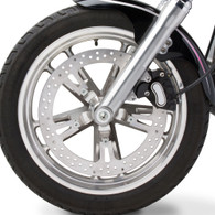"""NESS 15"""" Big Brake Kit for Dyna Mag Spoke Mounted Rotor 2006 and later Dyna"""