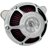 PERFORMANCE MACHINE MAX HP AIR CLEANER CHROME Big Twin