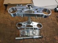 LeRoy Tracker Inverted Front End by Gigacycle Garage - Bare Bones for Hooligan Sportster