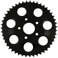 Black 530 Chain Conversion Flat Rear Sprocket – 46 Tooth 86-99 Big Twin